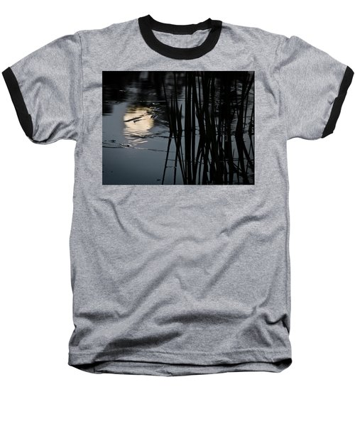 Moonlight Reflections Baseball T-Shirt