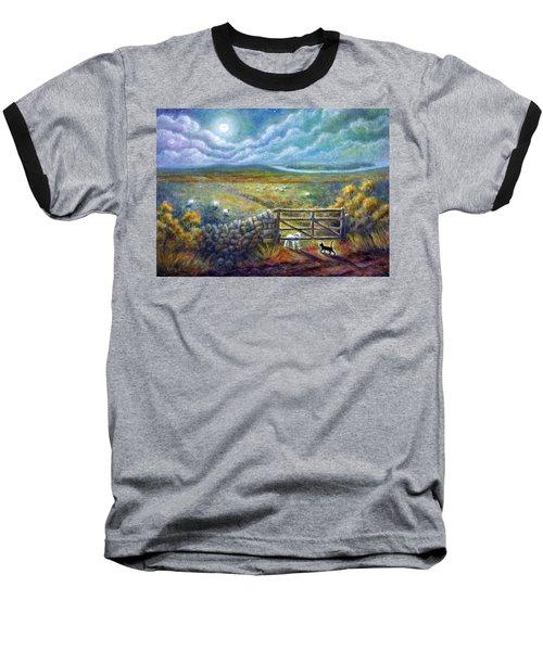 Moonlight Rendezvous Baseball T-Shirt