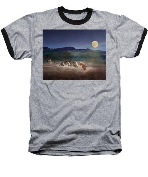 Moonlight Run Baseball T-Shirt