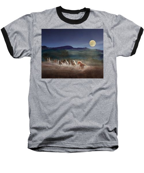Moonlight Run Baseball T-Shirt