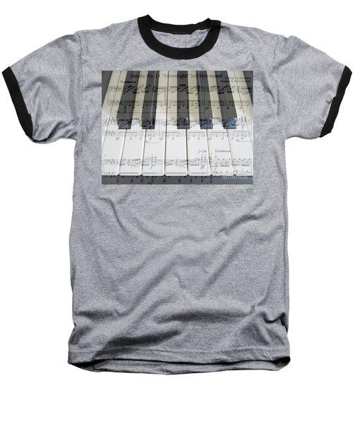 Baseball T-Shirt featuring the photograph Moonlight Sonata 3rd Movement by Hanza Turgul