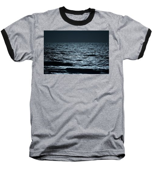 Moonlight Waves Baseball T-Shirt