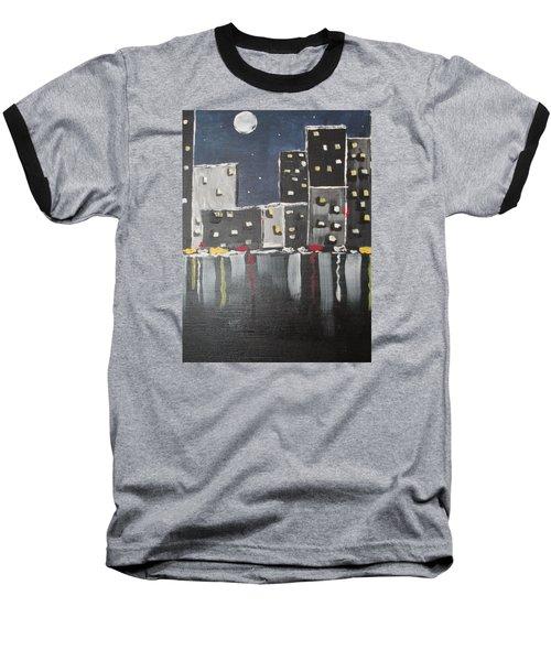 Moonlighters Baseball T-Shirt by Sharyn Winters