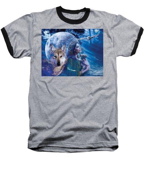 Moonlit Brethren Variant 1 Baseball T-Shirt