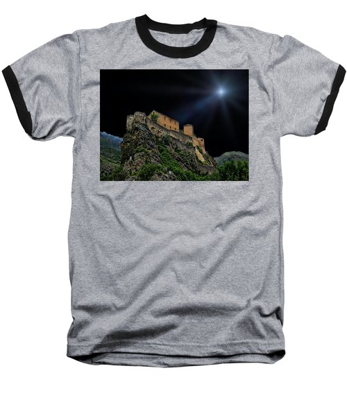 Moonlit Castle Baseball T-Shirt