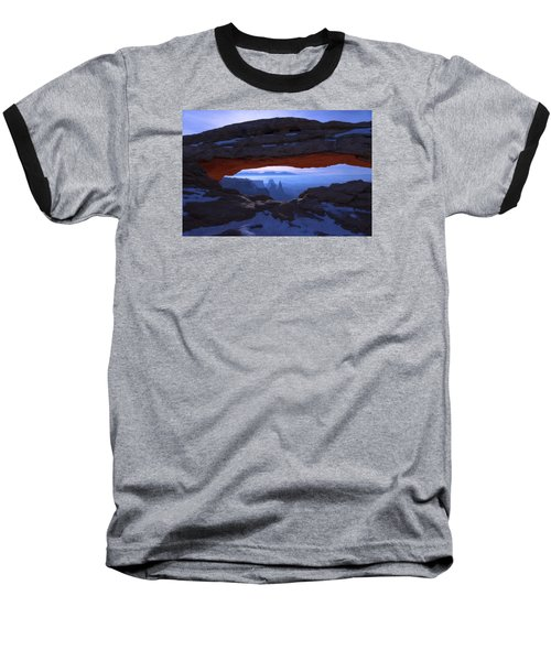 Moonlit Mesa Baseball T-Shirt