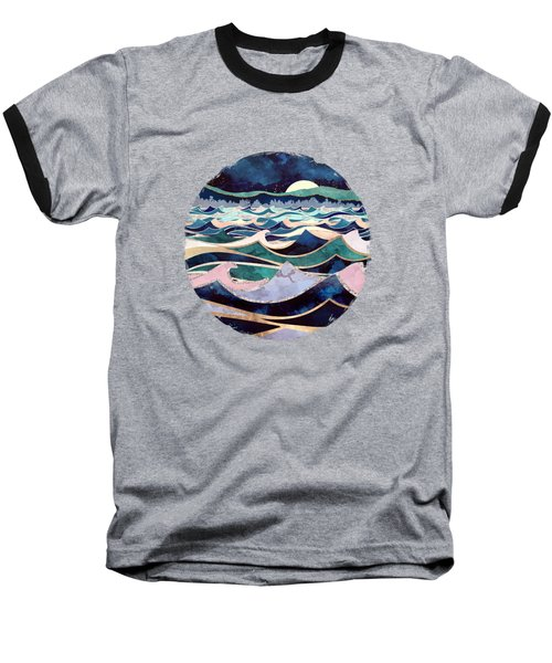 Moonlit Ocean Baseball T-Shirt