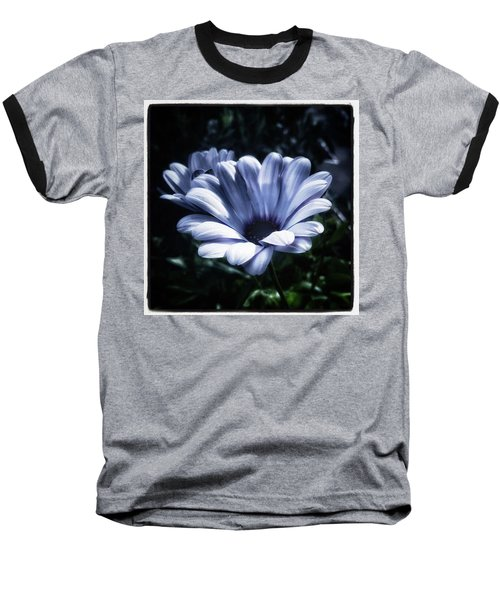 Baseball T-Shirt featuring the photograph Moonlit Petals. From The Beautiful by Mr Photojimsf