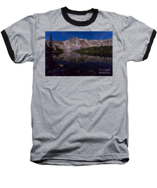 Moonlit Reflections  Baseball T-Shirt