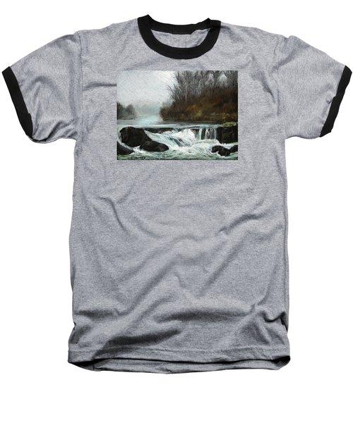 Moonlit Serenity Baseball T-Shirt by Marna Edwards Flavell