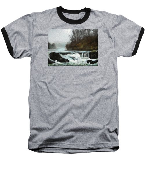 Moonlit Serenity Baseball T-Shirt