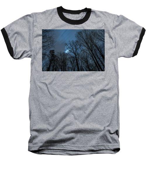 Moonlit Sky Baseball T-Shirt