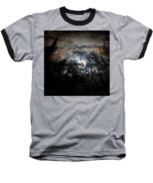 Moonlite Ride Baseball T-Shirt