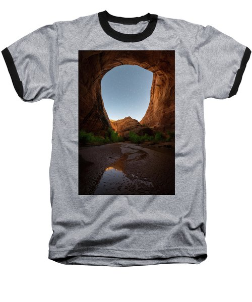 Moonrise At Coyote Gulch Baseball T-Shirt by Dustin LeFevre