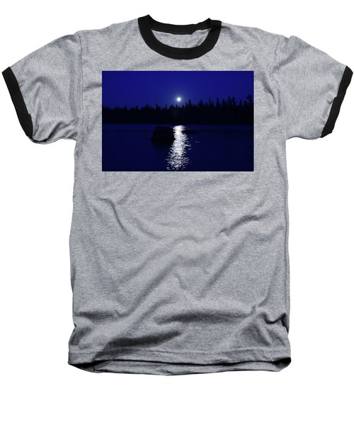 Moonrise On A Midsummer's Night Baseball T-Shirt