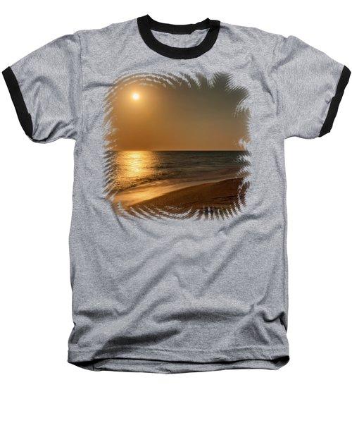 Moonscape 3 Baseball T-Shirt