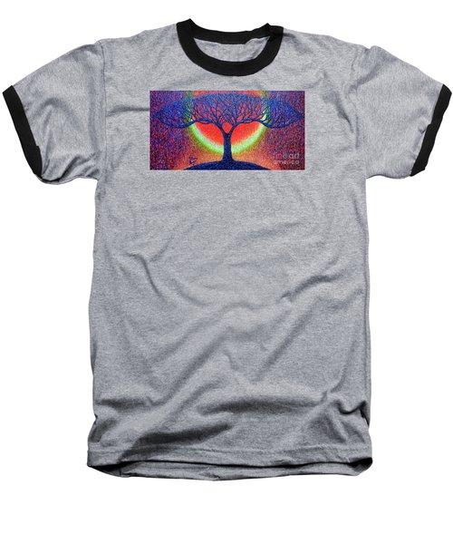 moonshine-2/God-is light/ Baseball T-Shirt
