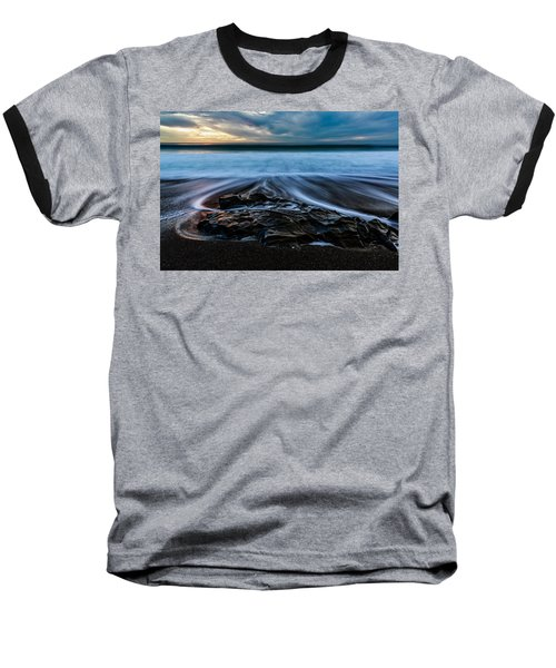 Moonstone Beach In The New Year Baseball T-Shirt
