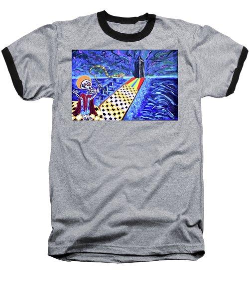 Moooshe And The Red Sea Baseball T-Shirt