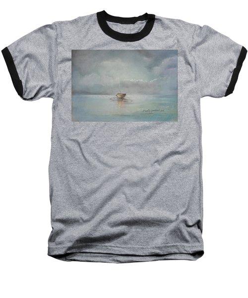 Moored Boat Baseball T-Shirt