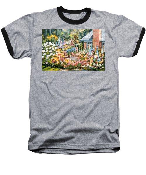 Moore's Garden Baseball T-Shirt by Alexandra Maria Ethlyn Cheshire