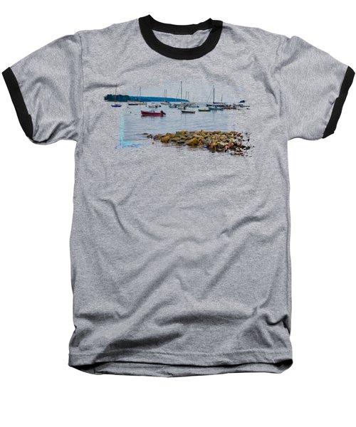 Moorings 2 Baseball T-Shirt by John M Bailey