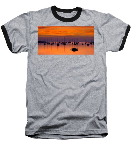 Moorings, Conwy Estuary Baseball T-Shirt