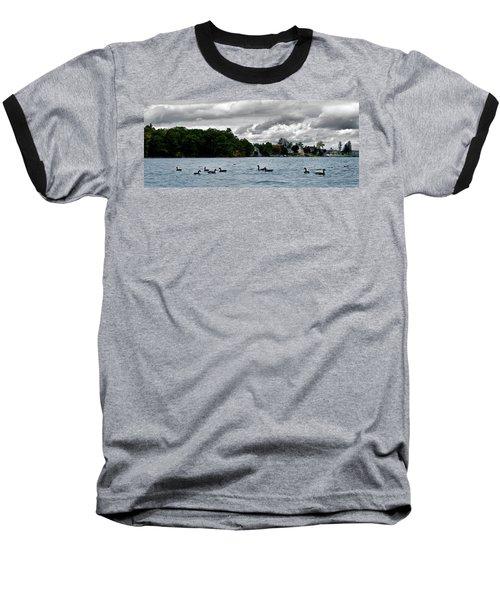 Moose Beach Point Baseball T-Shirt
