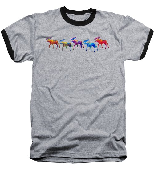 Moose Mystique Apparel Design Baseball T-Shirt