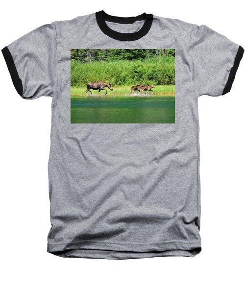 Moose Play Baseball T-Shirt by Greg Norrell