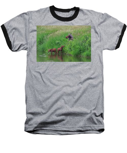 Moose Play Baseball T-Shirt