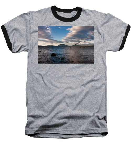 Moosehead Lake Spencer Bay Baseball T-Shirt by Brent L Ander