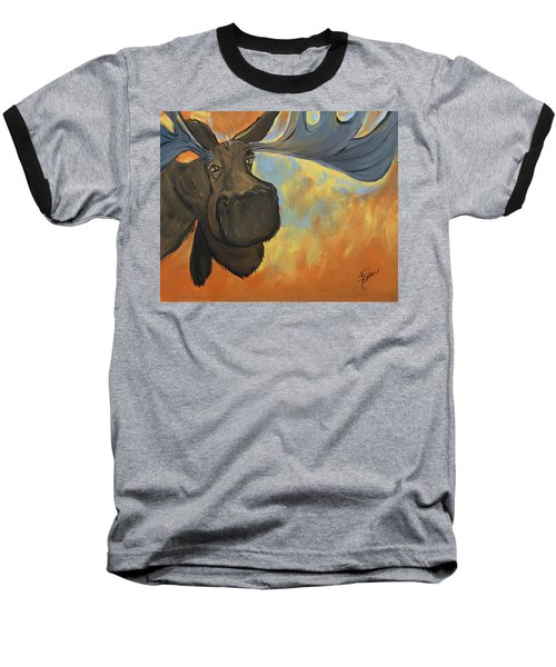 Moosying Along Baseball T-Shirt