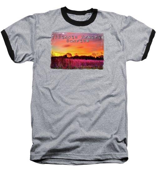 Moraine Hills At Sunrise Baseball T-Shirt