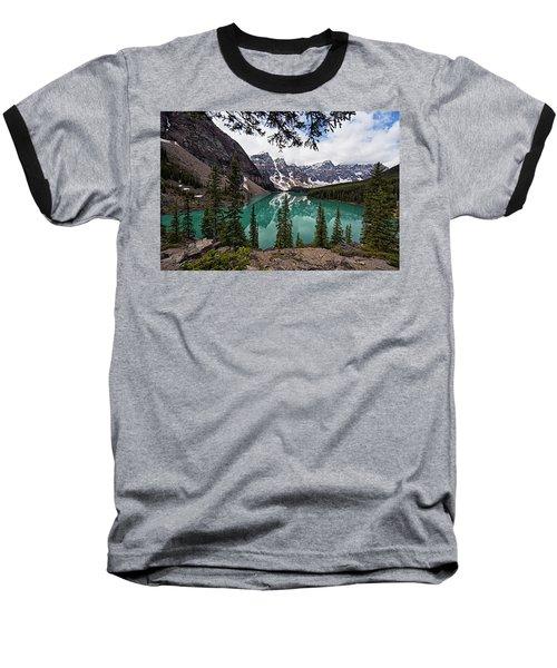 Moraine Lake Baseball T-Shirt