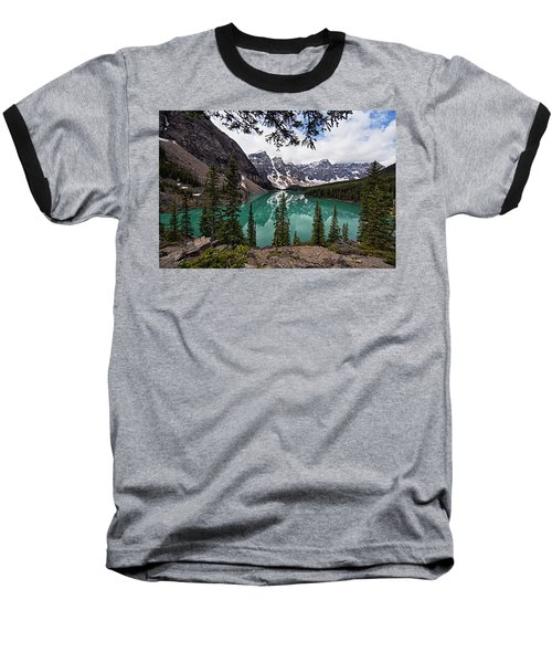 Moraine Lake Baseball T-Shirt