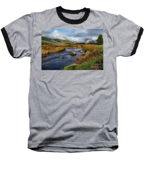 Moraine Park Morning - Rocky Mountain National Park, Colorado Baseball T-Shirt