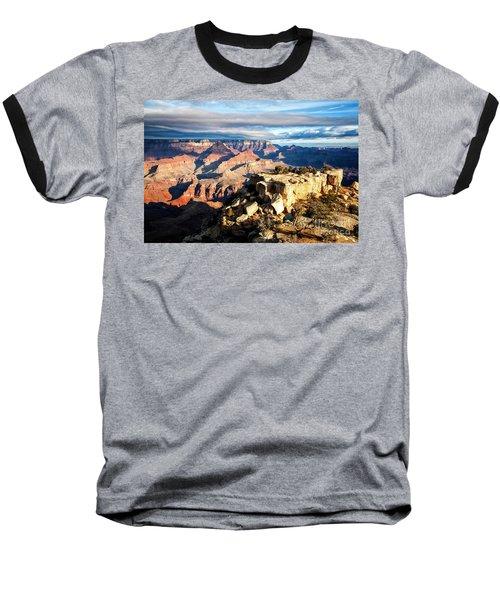 Moran Point 2 Baseball T-Shirt