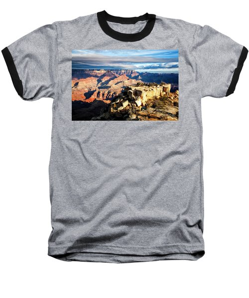 Moran Point 2 Baseball T-Shirt