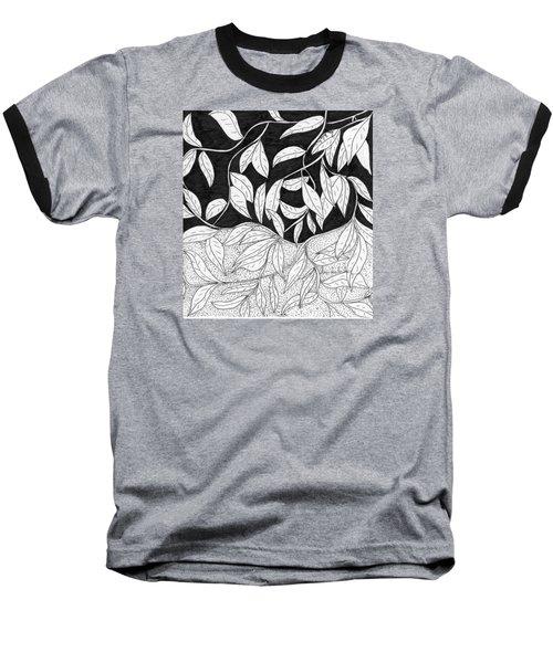 More Leaves Baseball T-Shirt by Lou Belcher