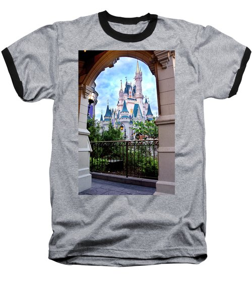 Baseball T-Shirt featuring the photograph More Magic by Greg Fortier
