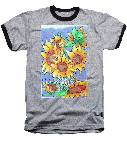 More Sunflowers Baseball T-Shirt