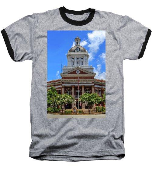 Morgan County Court House Baseball T-Shirt