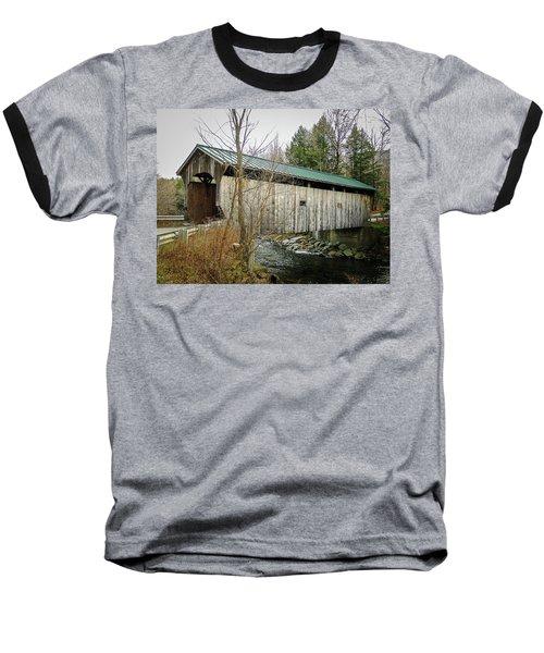 Morgan Covered Bridge Baseball T-Shirt