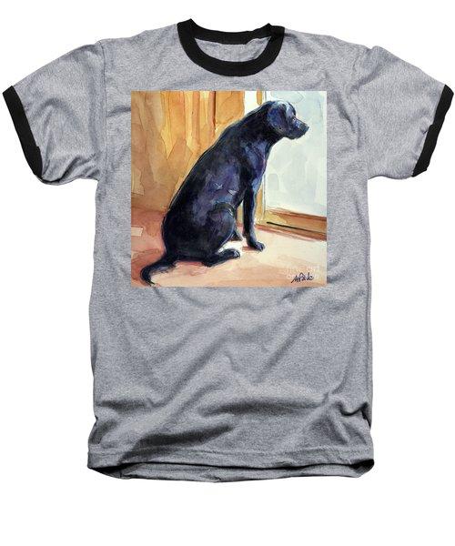 Morgan's View Baseball T-Shirt by Molly Poole