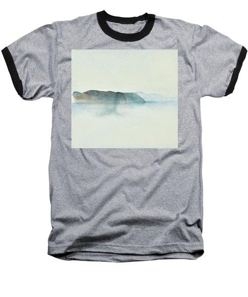 Morgondis Over Kusten - Morning Haze Over The Swedish Westcoast, Hunnebo_1211 Up To 70 X 70 Cm Baseball T-Shirt