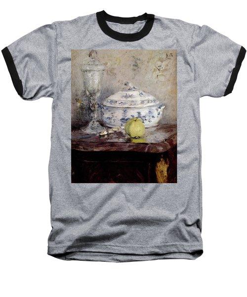 Morisot Berthe Tureen And Apple Baseball T-Shirt by Berthe Morisot