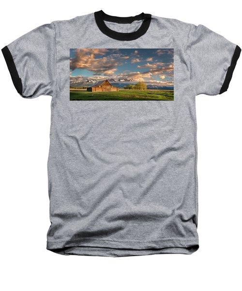 Mormon Row At Sunrise Baseball T-Shirt