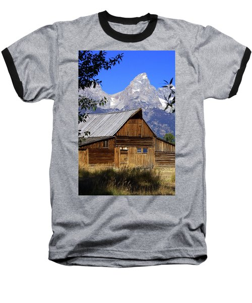 Mormon Row Barn  1 Baseball T-Shirt