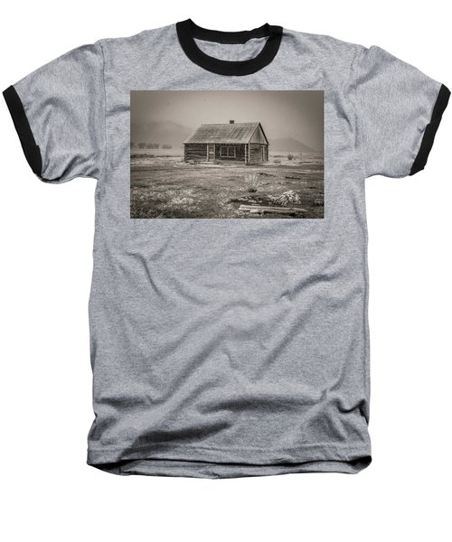 Mormon Row Grand Teton National Park  Baseball T-Shirt
